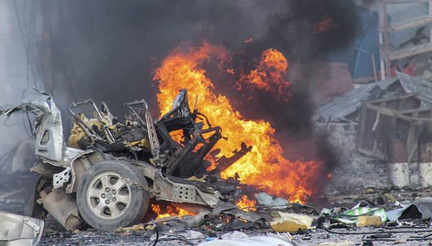 Al menos 13 muertos en un atentado terrorista en Somalia