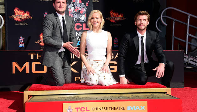 Jennifer Lawrence dice adiós a 'The Hunger Games'