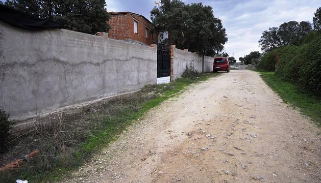 Vista de la calle donde se ha producido el suceso.