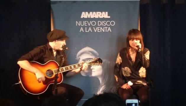 Amaral presenta su nuevo trabajo, 'Nocturnal'