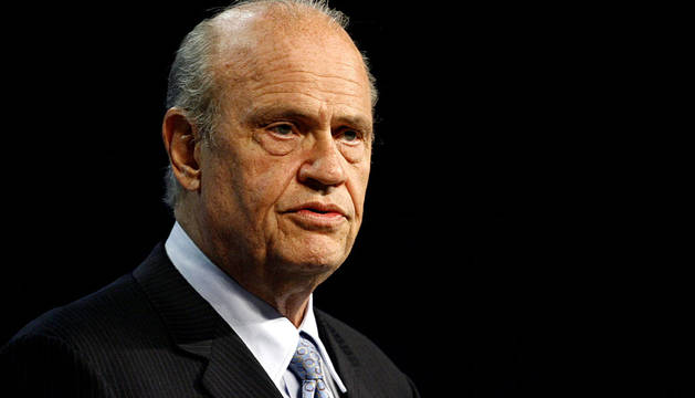 Fred Thompson, actor y senador.