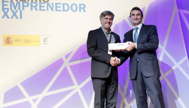 Entrega del premio a Palobiofarma