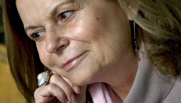 La escritora mallorquina Carme Riera.