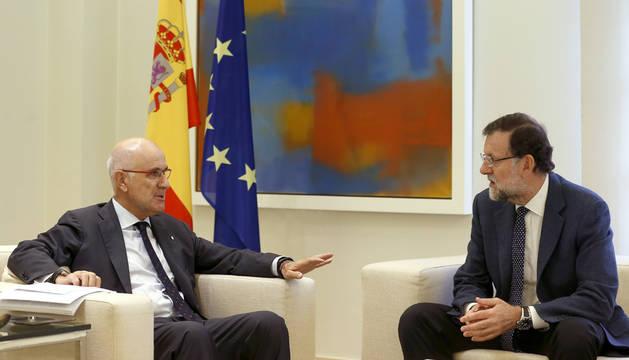 Rajoy recibe a Duran en La Moncloa ante el desafío independentista