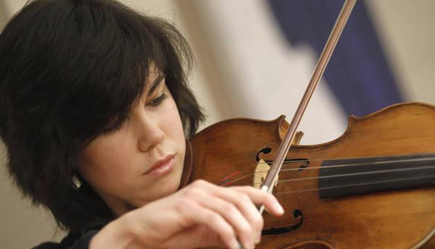 La violinista pamplonesa Isabel Villanueva, Premio 'El Ojo Crítico' de RNE