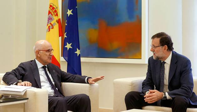 Duran, reunido con Rajoy en la Moncloa.