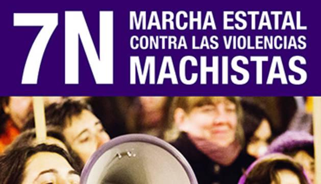 La COMFIN llama a los navarros a protestar por la violencia machista