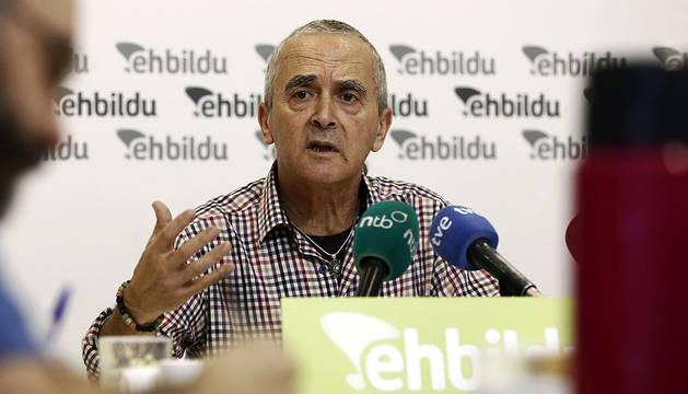 El diputado de EH Bildu Sabino Cuadra.