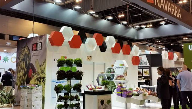 El stand de Navarra en la feria Fruit Attraction 2015