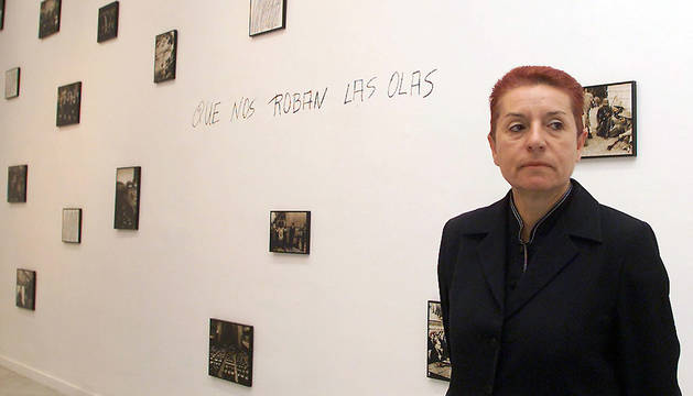 Fotografía de archivo (11/10/2002) de Concha Jerez, galardonada con el Premio Nacional de Artes Plásticas 2015.