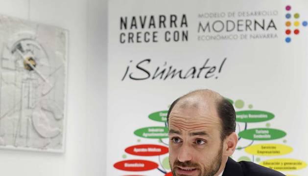 """Cernin Martínez: """"Lamento  la desaparición de Moderna; es una pérdida para Navarra"""""""