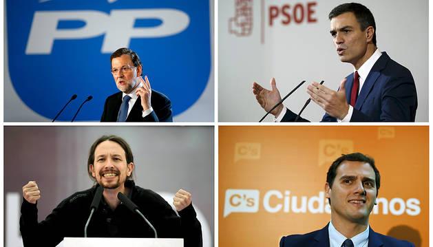 El retrato robot de los votantes de los cuatro grandes partidos