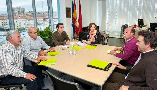 Reunión de la consejera Elizalde con representantes de UCAN.