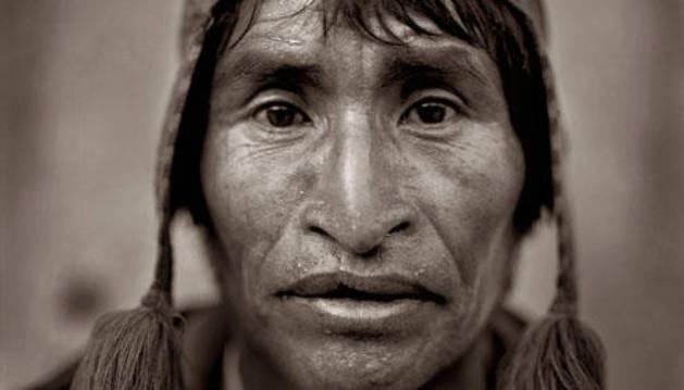 Fotografía de Castro Prieto de la serie 'Perú, viaje al sol'.