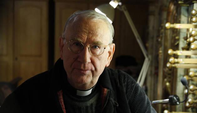 El compositor Carmelo Erdozáin.