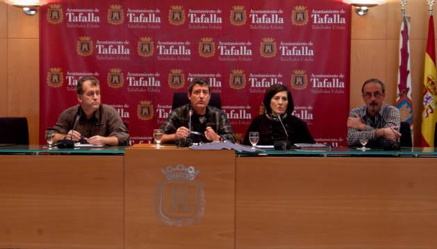 Comisión de agricultura del Ayuntamiento de Tafalla.