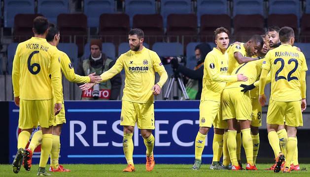 Soldado propicia la remontada y el Villarreal está casi clasificado