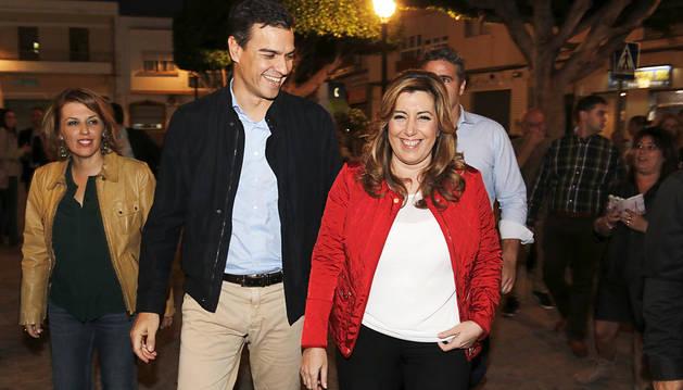 Sánchez acusa a Rajoy de hacer que el secesionismo