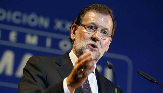 Rajoy pide una mayoría fuerte que impida a la oposición aliarse contra él