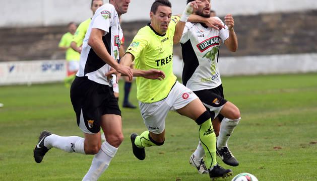 Imagen de un partido anterior del Tudelano.