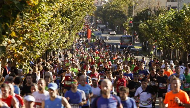 Celebración de la 51 edición de la carrera popular Behobia-San Sebastián,