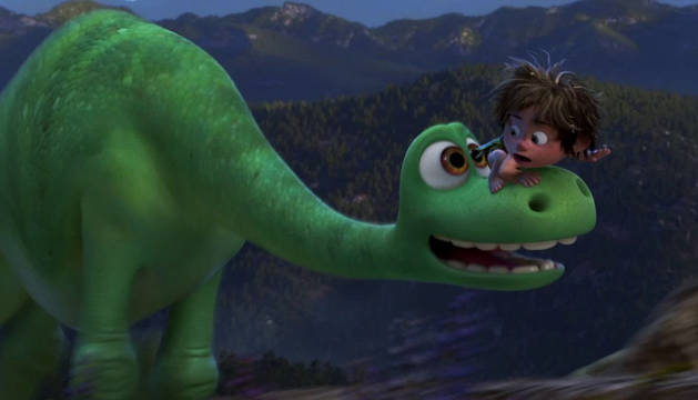 Fotograma de 'The Good Dinosaur'.