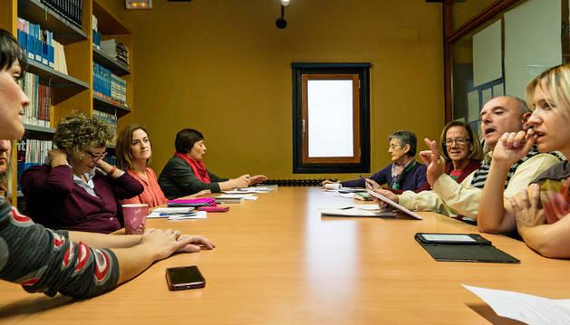 Reunión de octubre del club de lectura en inglés.