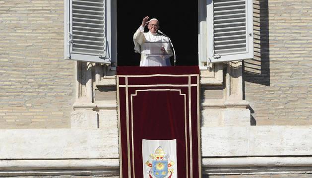El Papa tacha de