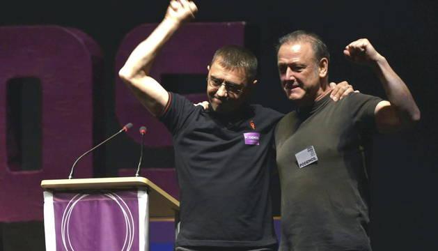 Roberto Uriarte y Juan Carlos Monedero.