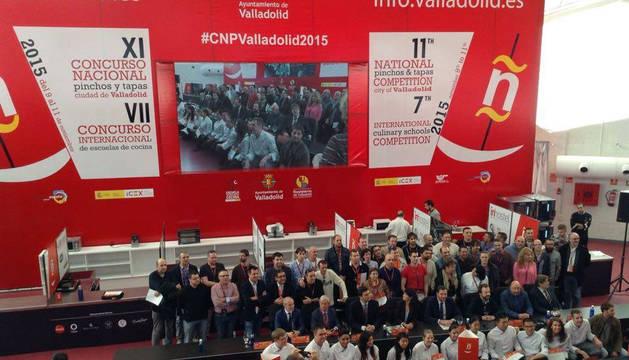 Imagen de la presentación del Concurso Nacional de Pinchos.