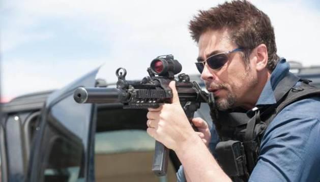 Benicio del Toro, en 'Sicario'.