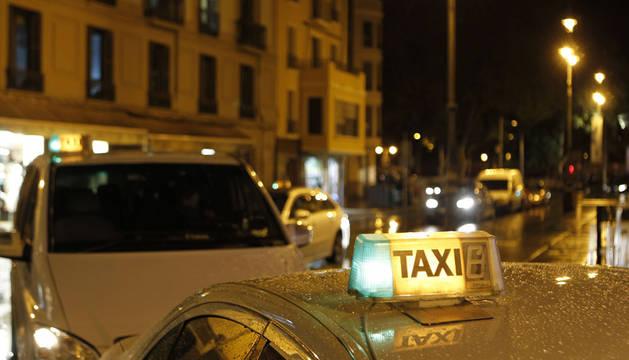 El número de taxis se duplica en la comarca de Pamplona en diez años