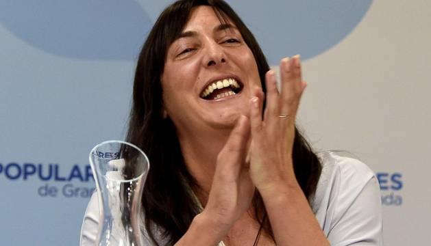La secretaria general del PP andaluz termina un acto con