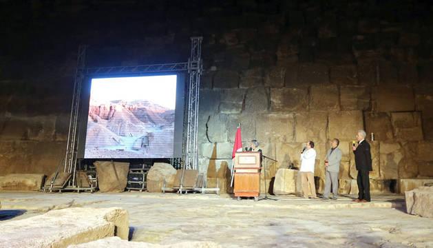 Presentación de proyecto 'Scan Pyramids'.