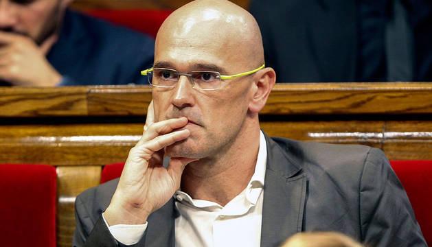 Raül Romeva, diputado de Junts pel Sí.