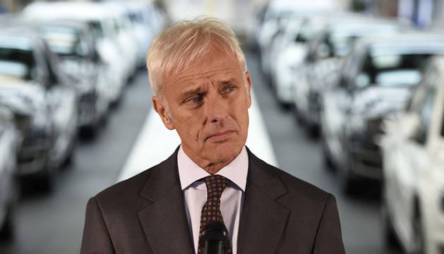 El consejero delegado de Volkswagen, Matthias Müller.