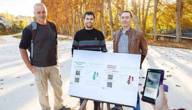 Recorrido interactivo para dispositivos móviles por el parque de Trinitarios