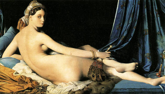La 'Odalisca' de Ingres ya duerme en el Prado