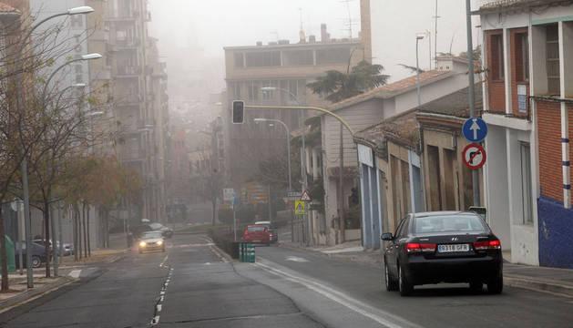Las nieblas sólo afectarán hoy a la mitad sur de Navarra