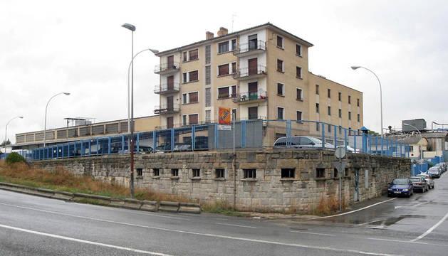 Instalaciones de La Protectora en Pamplona, en la carretera a Orkoien.