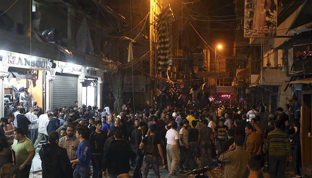 Un doble atentado en Beirut causa al menos 23 muertos