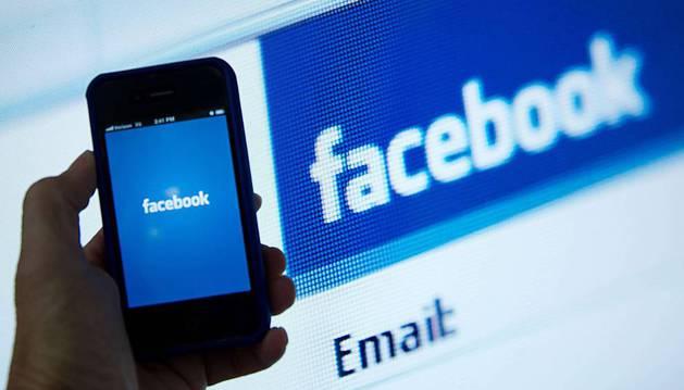 Aplicación de Facebook para móvil.