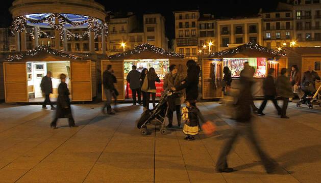 La feria de Navidad podría volver a la Plaza del Castillo