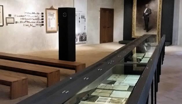 La Sala-Museo Pablo Sarasate, en Condestable.