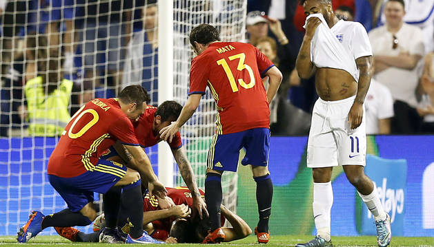 La 'Roja' empieza a tomar forma de cara a la Eurocopa 2016