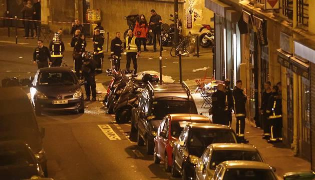 Al menos 18 personas murieron este viernes 13 de noviembre en París tras un tiroteo y tres explosiones registradas en varios puntos de la capital francesa.