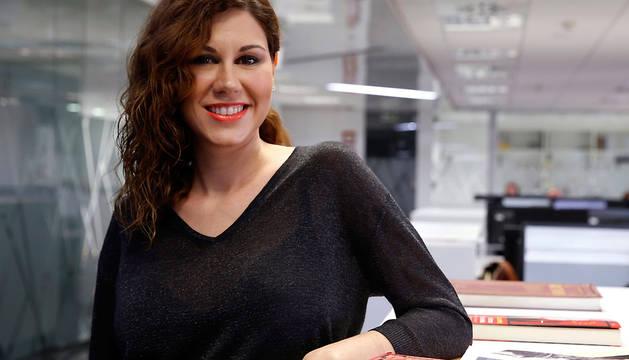 Tamara Macarena Valcárcel, durante la entrevista con EFE.