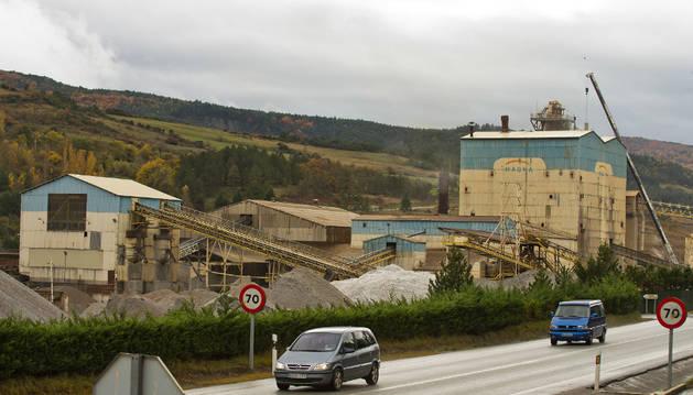 Sede central de Magnesitas Navarras (Magna) en Zubiri, valle de Esteribar.