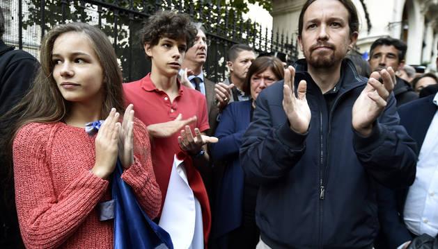 Pablo Iglesias se desmarca de los grandes consensos de Estado