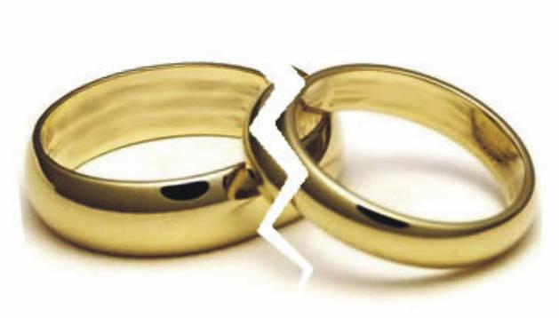 La franja de edad entre los 40 y 49 años protagoniza el 38% de los divorcios